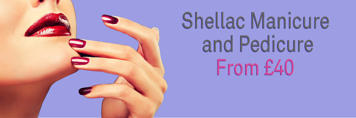 Shellac Manicure and Pedicure